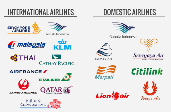 Major Airline Carrier Logos